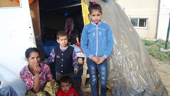 6 kişilik ailenin çadırda içler acısı hali