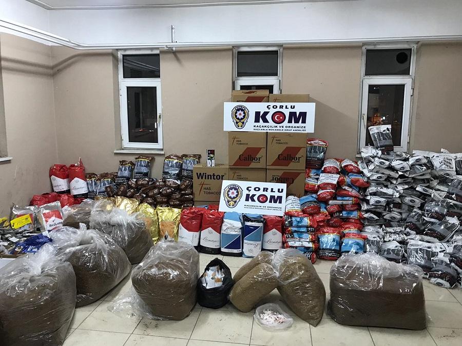 Kaçakçılık ve Organize Suçlarla Mücadele Şube Müdürlüğünden Operasyon