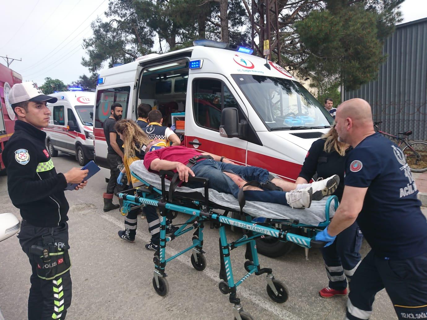 Eski Hastane Caddesinde Trafik Kazası!