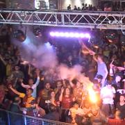 Saray'da Galatasaray Şampiyonluğu Coşku ile Kutlandı