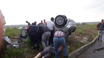 Büyükyoncalı'da Feci Kaza ! 2 Ölü 2 Yaralı