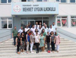 İl Milli Eğitim Müdürü Mehmet Uygun İlkokulunda!