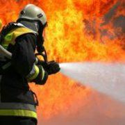 Çorluda Korkutan Yangın