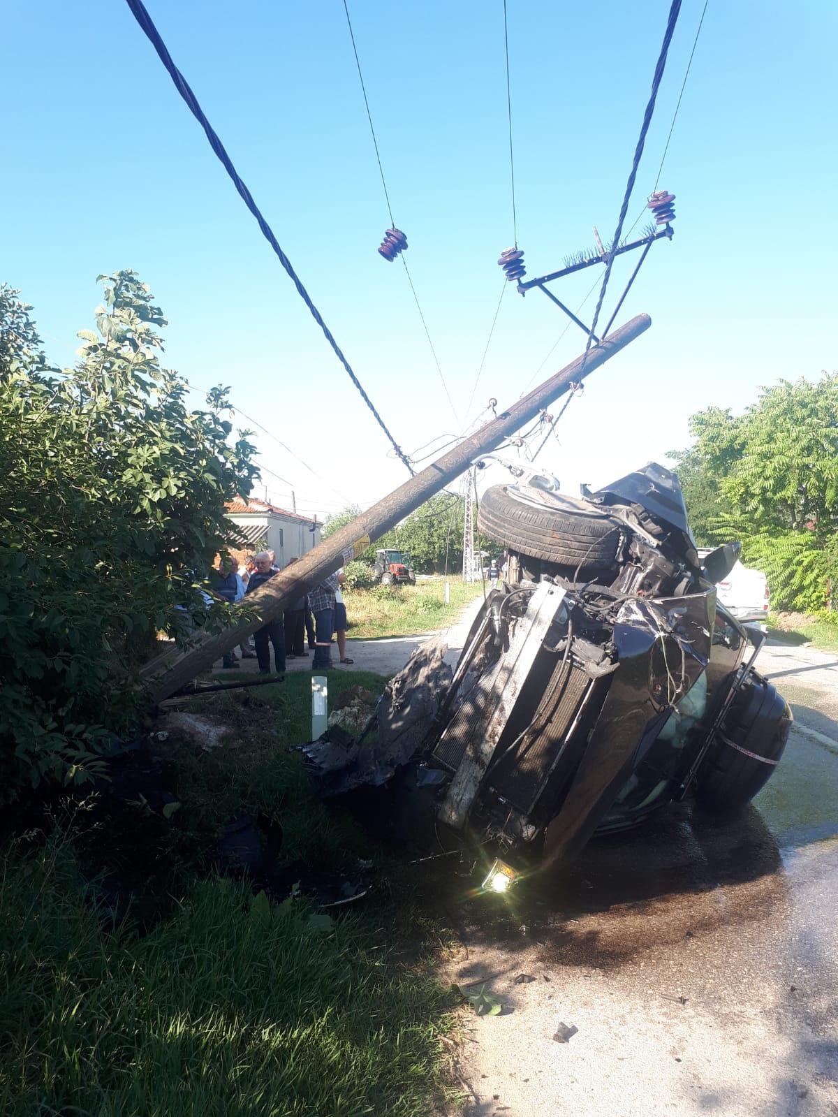 Gurbetçi Aile Trafik Kazası Yaptı!