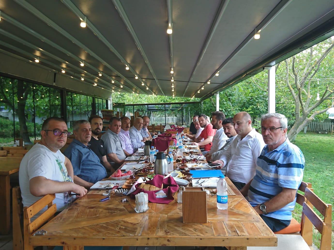 Basın Ali ÖZEN'in Davetinde Buluştu.