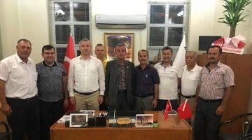 Saray Ak Parti Teşkilatından Muhtar Ziyaretleri
