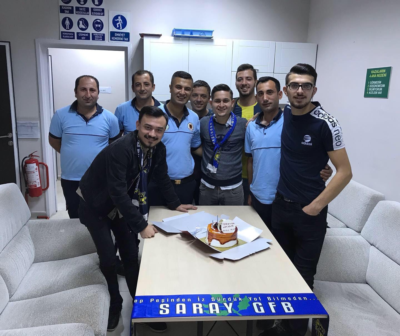 Saray Genç Fenerbahçelilerden İtfaiye Ziyareti…