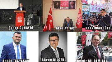 Kulislerde Konuşulan CHP Saray İlçe Başkan Adayları!