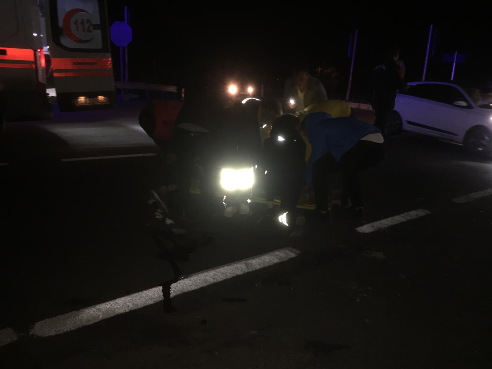 Büyük Yoncalı Kavşağında Yine Trafik Kazası!