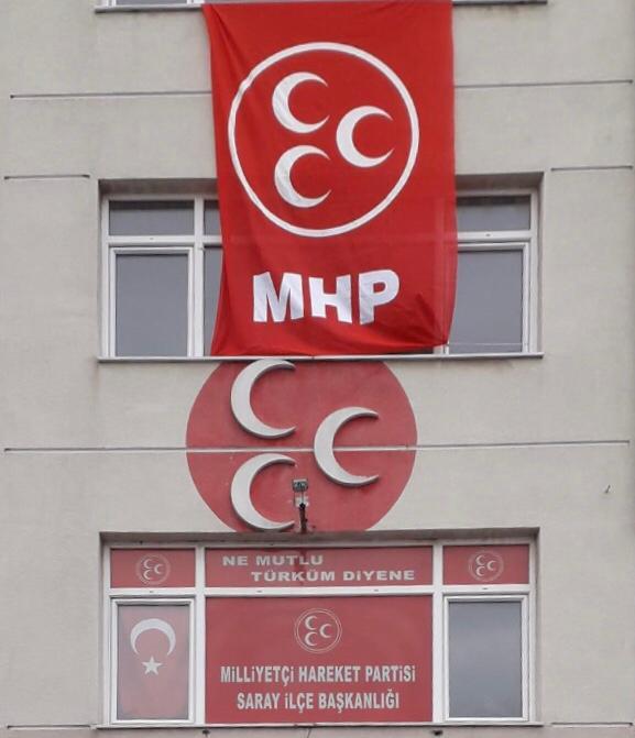 """MHP İlçe Başkanı DUMAN """"Siz Yeter ki Evde Kalın!"""