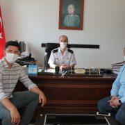 SAGİAD'tan Saray İlçe Jandarma Komutanlığına Ziyaret