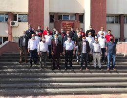 Saray Emlakçılar Birliği Tapu Müdürünü Ziyaret Etti