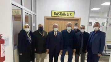 Esnafın Başkanları Kadir Albayrak ile Bir Araya Geldi!