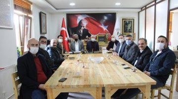 Vezirköprü'den Başkan Erkiş'e ziyaret
