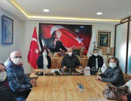 CHP Millet Vekili Candan YÜCEER Saray'da ziyaretlerde bulundu.