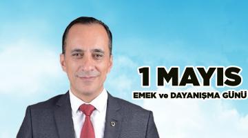 """Kapaklı CHP İlçe Başkanı Erdin Yılmaz """"1 Mayıs"""" Basın Açıklaması"""