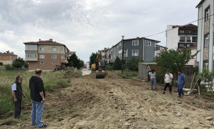 Şehit Serkan Tuban Sokak 2. Etap'ta Çalışma Başladı