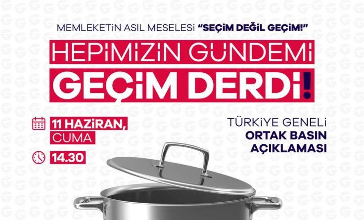 Saadet Partisi Saray İlçe Başkanlığı Basın Açıklaması!