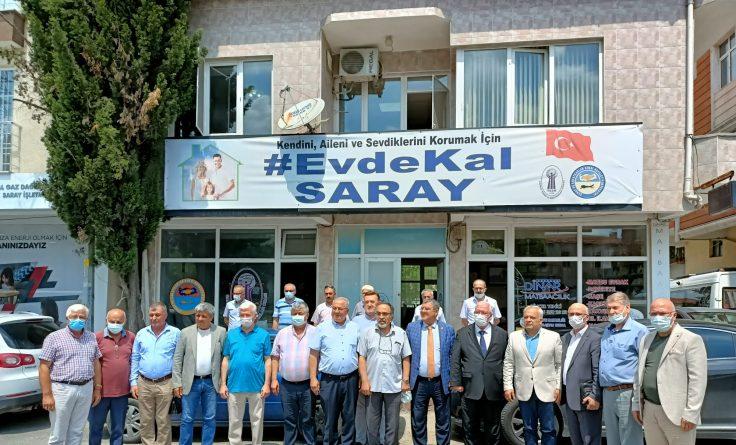 Kredi ve Kefalet Kooperatifleri Birliği Saray'da Toplandı