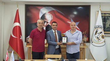 Bulgaristan Varbitsa Belediye Başkanı Bayram'dan Erkiş'e ziyaret