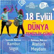 Saray Belediyesi'nden 18 Eylül Dünya Temizlik Günü'ne özel etkinlik