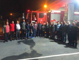 Başkan Alper Çarıkçı ve CHP Gençlik Kolları İtfaiye Haftasını Kutladı
